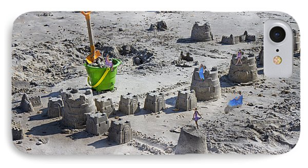 Sandcastle Squatters IPhone Case