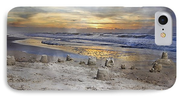Sandcastle Sunrise IPhone Case by Betsy Knapp