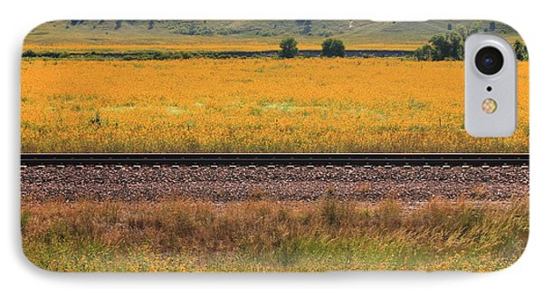 IPhone Case featuring the photograph Sandhill Sunflowers by Alicia Knust