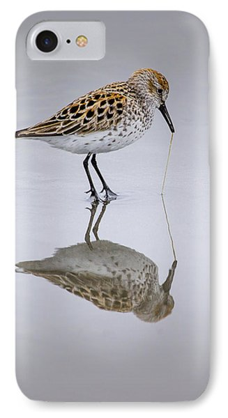 Sandpiper Pull Phone Case by Sonya Lang
