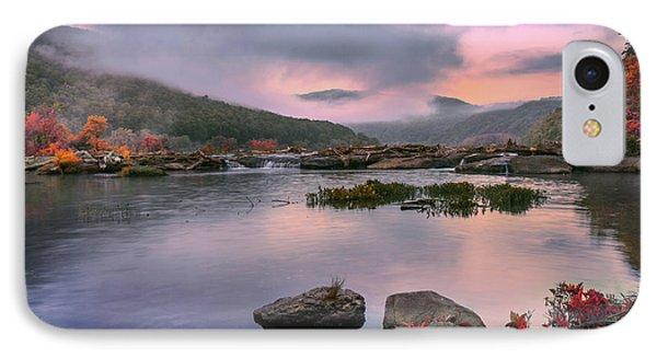 Sandstone Falls At Dawn IPhone Case
