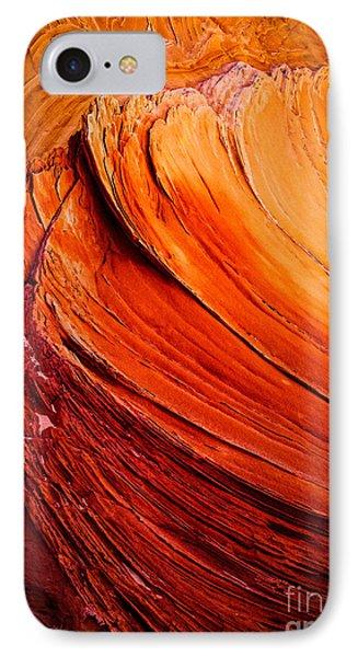 Sandstone Flakes IPhone Case by Inge Johnsson
