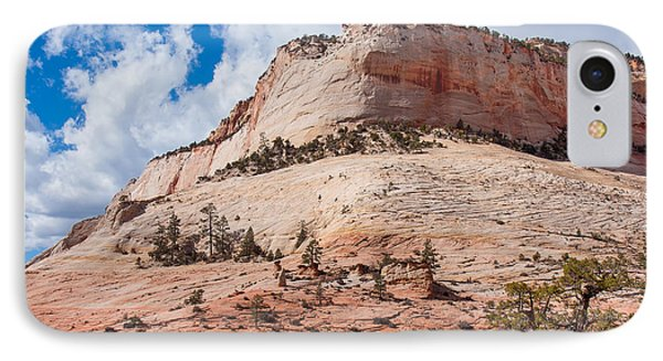 IPhone Case featuring the photograph Sandstone Mountain by John M Bailey