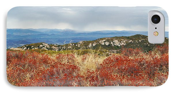 Sandstone Peak Fall Landscape IPhone Case by Kyle Hanson