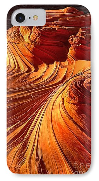 Sandstone Silhouette IPhone Case by Adam Jewell