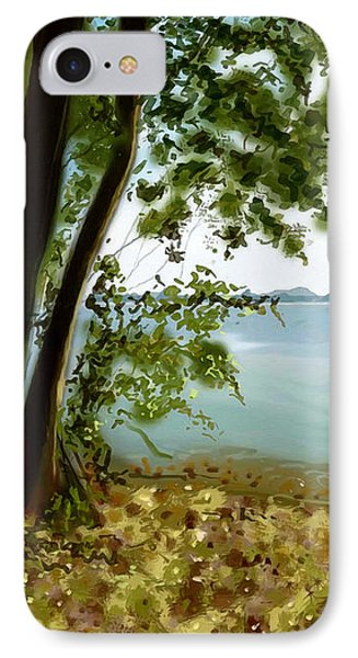 IPhone Case featuring the painting Sandusky Bay by Shawna Rowe