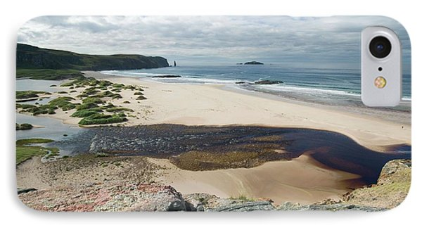 Sandwood Bay In Sutherland IPhone Case by Ashley Cooper