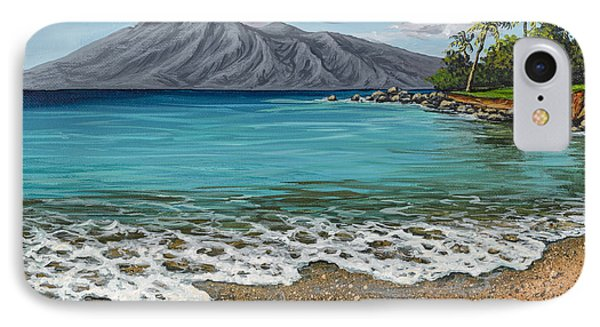 IPhone Case featuring the painting Sandy Beach by Darice Machel McGuire