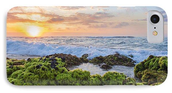 IPhone Case featuring the photograph Sandy Beach Sunrise 2 by Leigh Anne Meeks