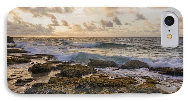Sandy Beach Sunrise 2 - Oahu Hawaii Phone Case by Brian Harig