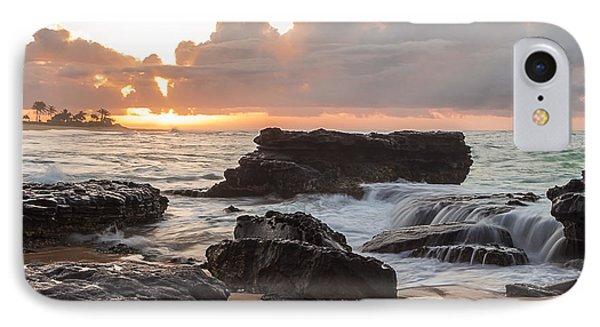 Sandy Beach Sunrise 6 IPhone Case