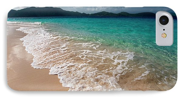 Sandy Island, British Virgin Islands IPhone Case by Susan Degginger