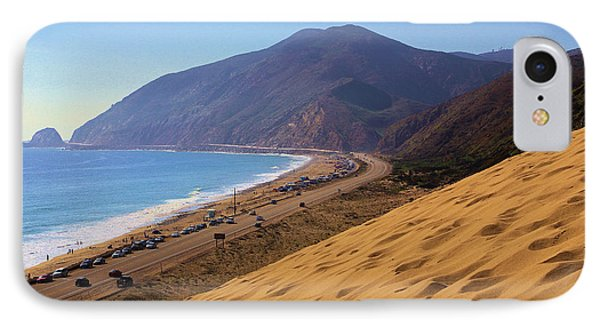 Sandy Mugu Point Looking North IPhone Case