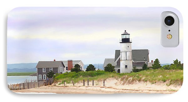 Sandy Neck Lighthouse IPhone Case by Michelle Wiarda