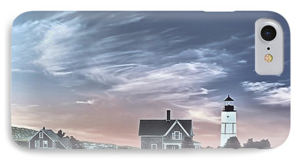Sandy Neck Lighthouse IPhone Case by Susan Candelario