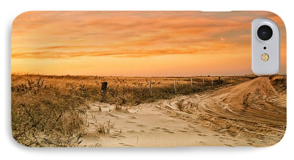 Sandy Road Leading To The Beach IPhone Case by Sabine Jacobs