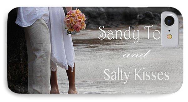 Sandy Toes IPhone Case by Dani Abbott