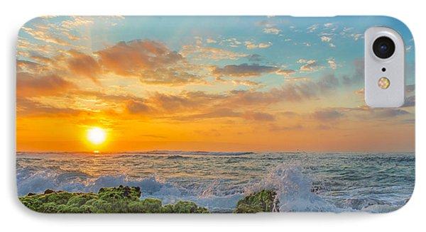 Sandy Beach Sunrise 3 IPhone Case