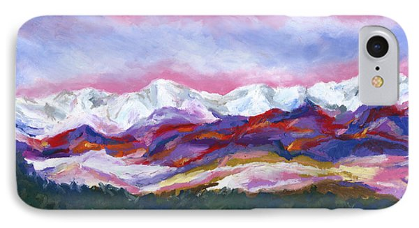 Sangre De Cristo Mountains IPhone Case by Stephen Anderson