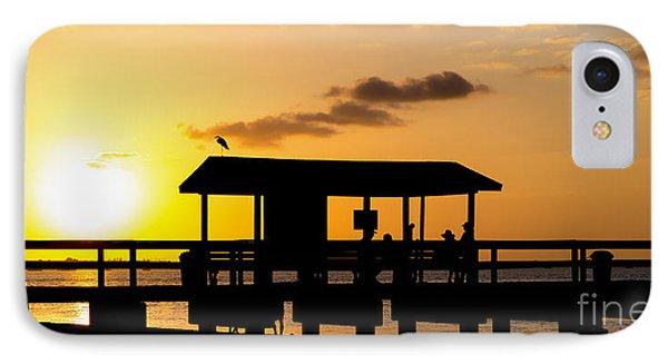 Sanibel Island Sunset IPhone Case by Edward Fielding