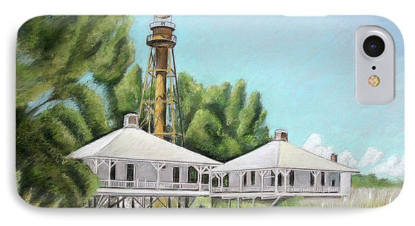 Sanibel Lighthouse IPhone Case by Melinda Saminski