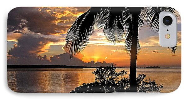 Sanibel Sunset IPhone Case by Carol  Bradley