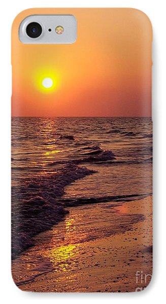 IPhone Case featuring the photograph Sanibel Sunset by D Hackett