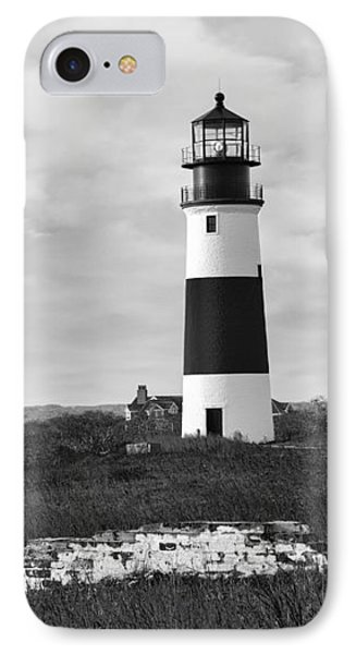 Sankaty Head Lighthouse Nantucket Cape Cod IPhone Case by Marianne Campolongo