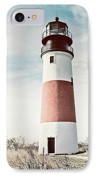 Sankaty Head Lighthouse Nantucket  IPhone Case by Marianne Campolongo