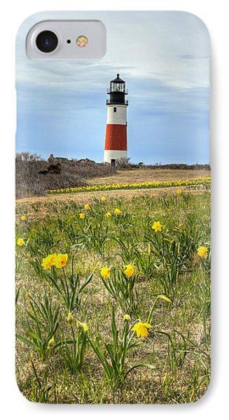 Sankaty Lighthouse Nantucket IPhone Case