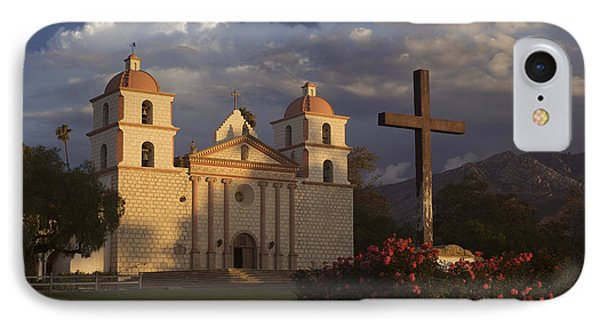 IPhone Case featuring the photograph Santa Barbara Mission Mg_6324 by David Orias