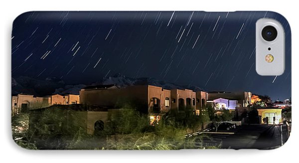 IPhone Case featuring the photograph Santa Catalina Mountain Startrails by Dan McManus