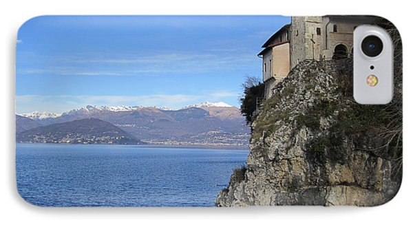 IPhone Case featuring the photograph Santa Caterina - Lago Maggiore by Travel Pics