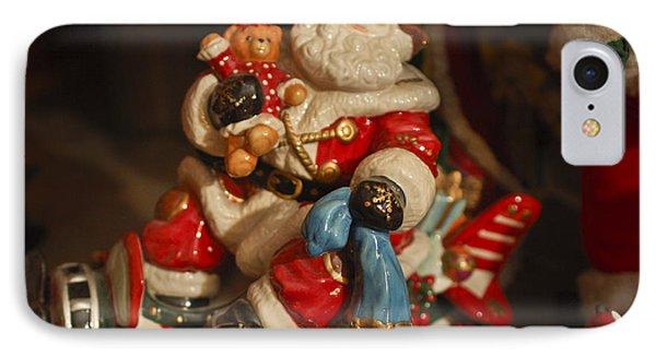 Santa Claus - Antique Ornament -05 Phone Case by Jill Reger
