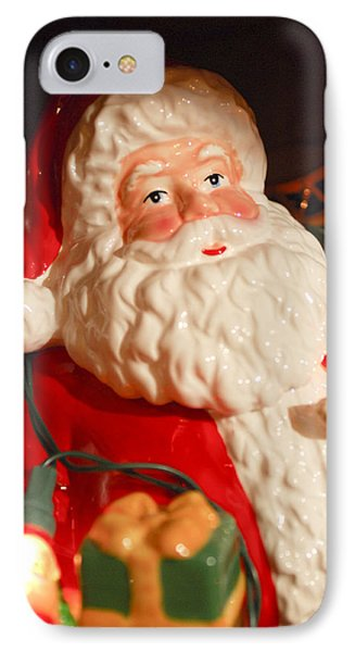 Santa Claus - Antique Ornament - 13 Phone Case by Jill Reger