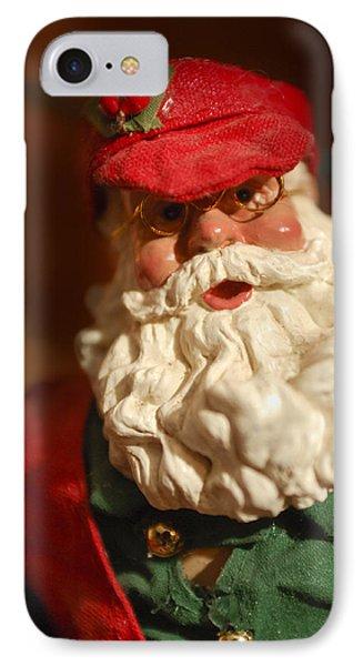 Santa Claus - Antique Ornament - 16 Phone Case by Jill Reger
