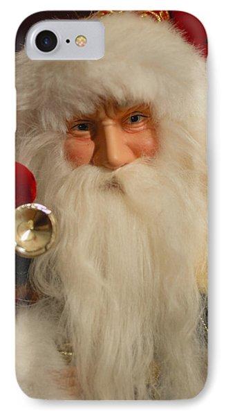 Santa Claus - Antique Ornament - 17 Phone Case by Jill Reger