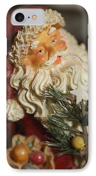 Santa Claus - Antique Ornament - 18 Phone Case by Jill Reger