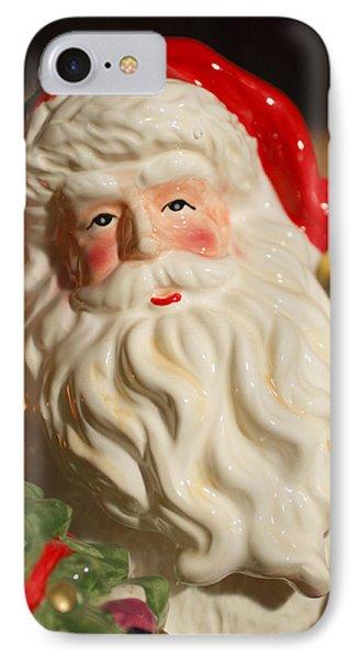 Santa Claus - Antique Ornament - 19 Phone Case by Jill Reger