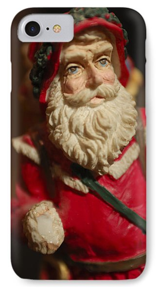 Santa Claus - Antique Ornament - 21 Phone Case by Jill Reger