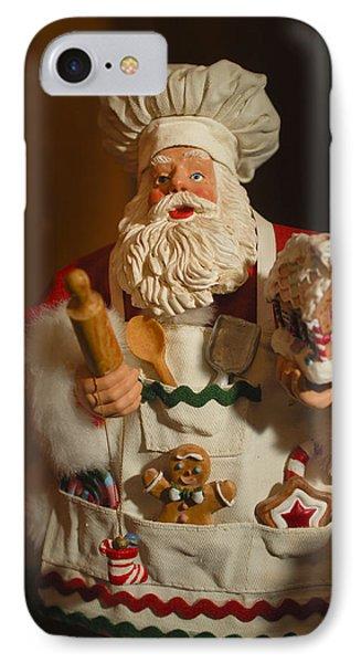 Santa Claus - Antique Ornament - 22 Phone Case by Jill Reger