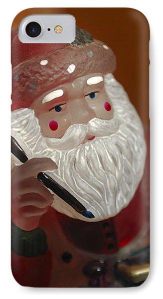 Santa Claus - Antique Ornament - 24 Phone Case by Jill Reger