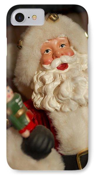 Santa Claus - Antique Ornament - 25 Phone Case by Jill Reger