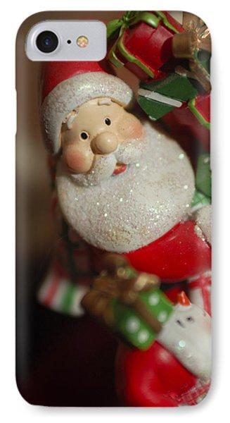 Santa Claus - Antique Ornament - 28 Phone Case by Jill Reger