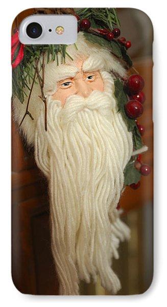 Santa Claus - Antique Ornament - 29 Phone Case by Jill Reger