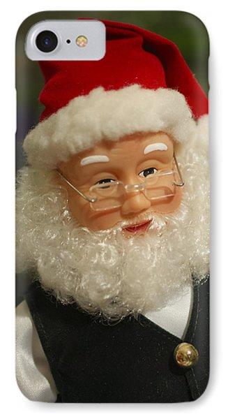 Santa Claus - Antique Ornament - 30 Phone Case by Jill Reger