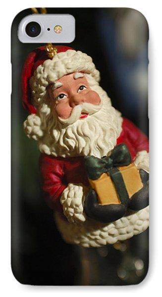 Santa Claus - Antique Ornament - 31 Phone Case by Jill Reger