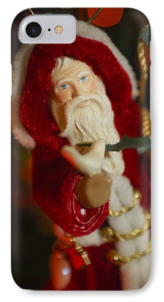 Santa Claus - Antique Ornament - 32 Phone Case by Jill Reger