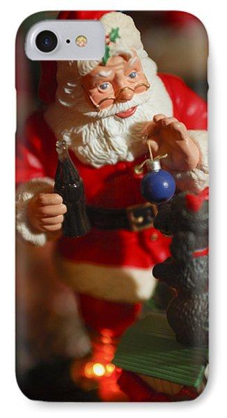 Santa Claus - Antique Ornament - 33 Phone Case by Jill Reger