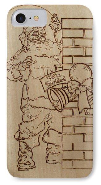 Santa Claus - Feliz Navidad IPhone Case